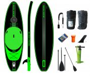 BLACK PEARL - Tortuga - 3,35 - 11'  Allround  inflatable Sup