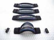 Fußschlaufe 3D Komfort - Freeride - Blue