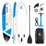 """SeaLion 10'6"""" Standup Paddel Board Aufblasbar 320cm x81cm x15cm (Blau)"""