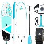 "SeaStar 10'8"" Stand Up Paddle Board 325 x86 x15cm (Cyan)"