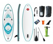 SUPer Lady - 7th.  Sense 3,19 - 10.6'' Allround  inflatable SUP