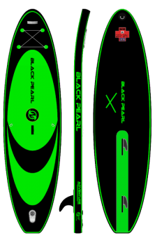 Black Pearl- Adventure 3,19 -10.6''   Windsurf  inflatable Sup
