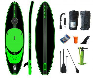 BLACK PEARL - Tortuga - 3,20 - 10.6''  Allround inflatable Sup