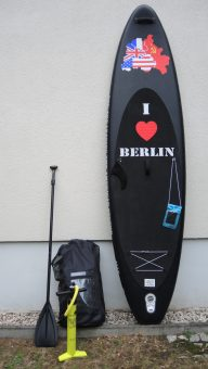 I love Berlin 3.19 - 10.6''  Allround Inflatable SUP