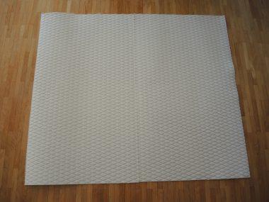 EVA PAD - DECK GRIP - Diamant Struktur Weiss 84 x 99