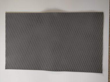 EVA PAD - DECK GRIP - Streifen Struktur - Grau 54 x 84 cm